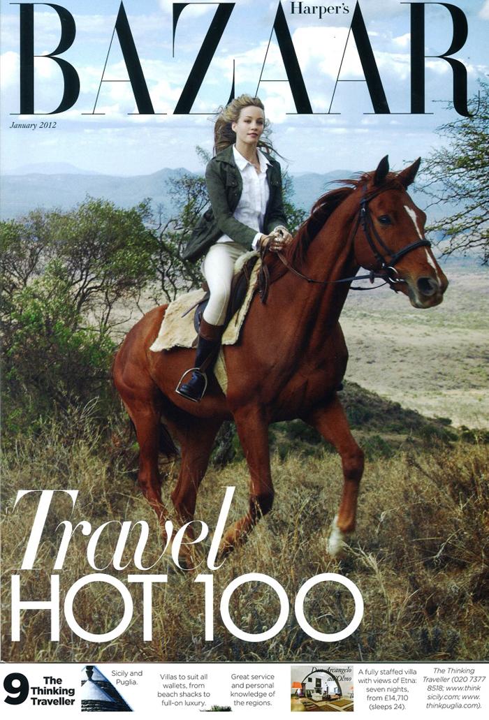 Harpers Bazaar, January 2012 | Think Puglia in the Press