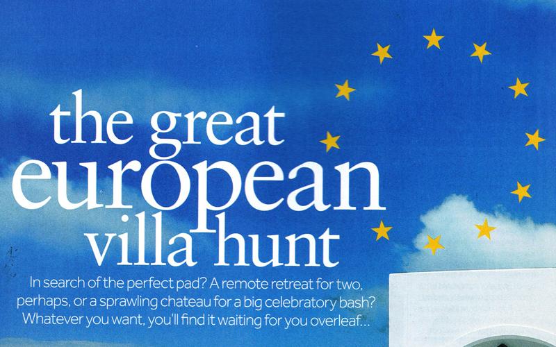 Villa Blanca in The Sunday Times Travel Magazine, 11th March 2011 | Think Puglia