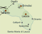 The Salento Map | Think Puglia