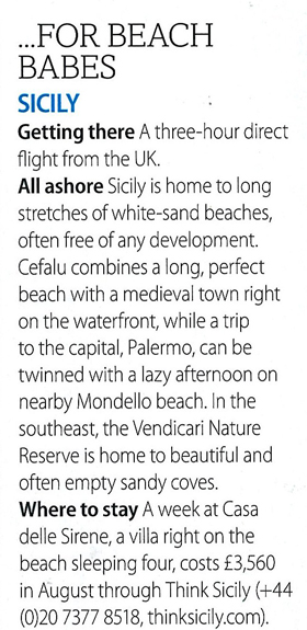 Casa delle Sirene in BA High Life, July 2011 | Think Sicily