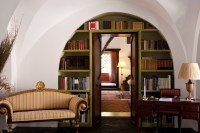 10/66 The various reception rooms seen through the arches.