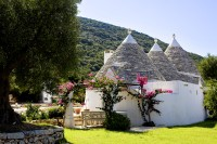 The beautifully restored trulli...