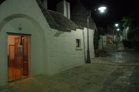Alberobello by night!