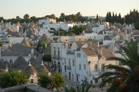 Alberobello's fascinating trulli centre.