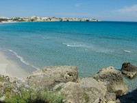 Transparent waters near Leuca on the southernmost tip of Puglia.
