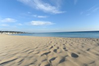 Marina di Pescoluse south of Gallipoli is a heaven for beach lovers.