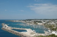 The harbour of Santa Maria di Leuca, Puglia's southernmost point.
