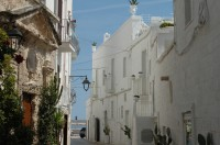 A lovely street in Monopoli.