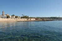 Santa Maria di Leuca seen from the sea.