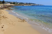 One of the beaches near Marina di Felloniche in the south of Puglia.