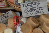 Pecorino cheese is a Puglian speciality.