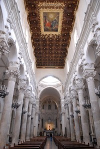 47/47 The impressive interior of Lecce's cathedral.