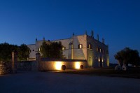81/88 Masseria Lamacoppa in all its majesty at dusk.