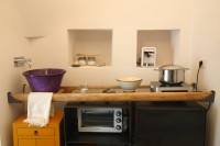 18/43 The kitchen area is essentially equipped, perfect for making breakfast and simple meals.