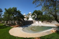 2/43 Trullo Cutetto seen over the pool.