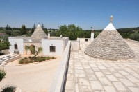 The two trulli seen from above.