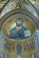 8/21 The magnificent Christ Pantocrator in the Duomo of Cefalù.