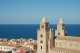 12/20 A view over the Duomo and town of Cefalù.