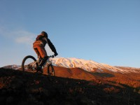Mountain-biking on Mount Etna is also a great experience.