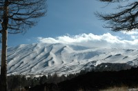 Beautiful scenes from the northern side of Mount Etna.