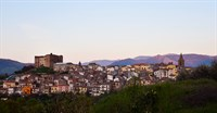 Stunning view of the pretty town of Castelbuono.