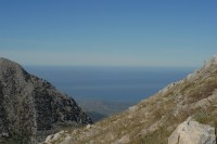 Spectacular views of the Tyrrhenian Sea from the Madonie Mountains.