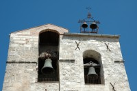 The bell tower of the Chiesa Madre in Petralia Soprana.