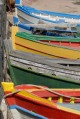 10/17 Brightly coloured fishing boats in Pantelleria.