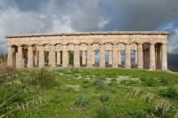 The Temple of Segesta is an impressive 61m long.