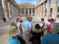 We can recommend a guide to explain the secrets of Segesta.