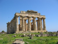 36/38 The magnificent Temple of Hera at Selinunte.