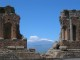 1/41 A fantastic view of Etna seen from the Teatro Greco in Taormina.