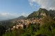 21/41 Taormina with Castelmola visible high above.