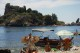 17/41 Going for a boat trip along the coast of Isola Bella, Taormina.