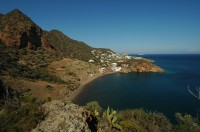 A view from one of the walks around Panarea.