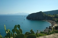 Part of Panarea's beautiful coastline.