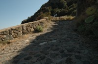 There are some great walks on Panarea.
