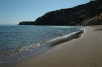 One of Panarea's glorious beaches.