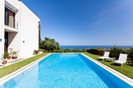 Ortensia Panoramic Villa With Pool Between Etna And The