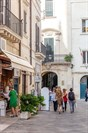 Strolling through the streets of Lecce.
