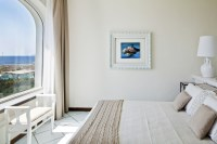 The superbly panoramic master bedroom.
