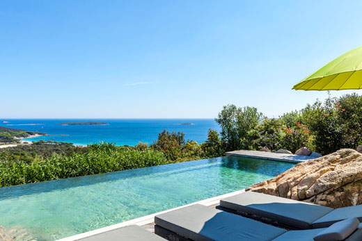 Villas in Corsica with pools