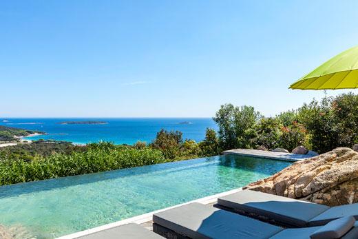 Villen auf Korsika mit Pool