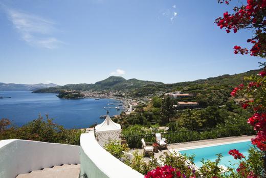 Villas on the Aeolian Islands