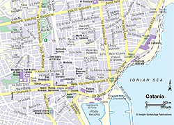 Map Catania | Think Sicily