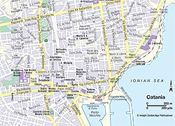 Map Catania | Think Sicily