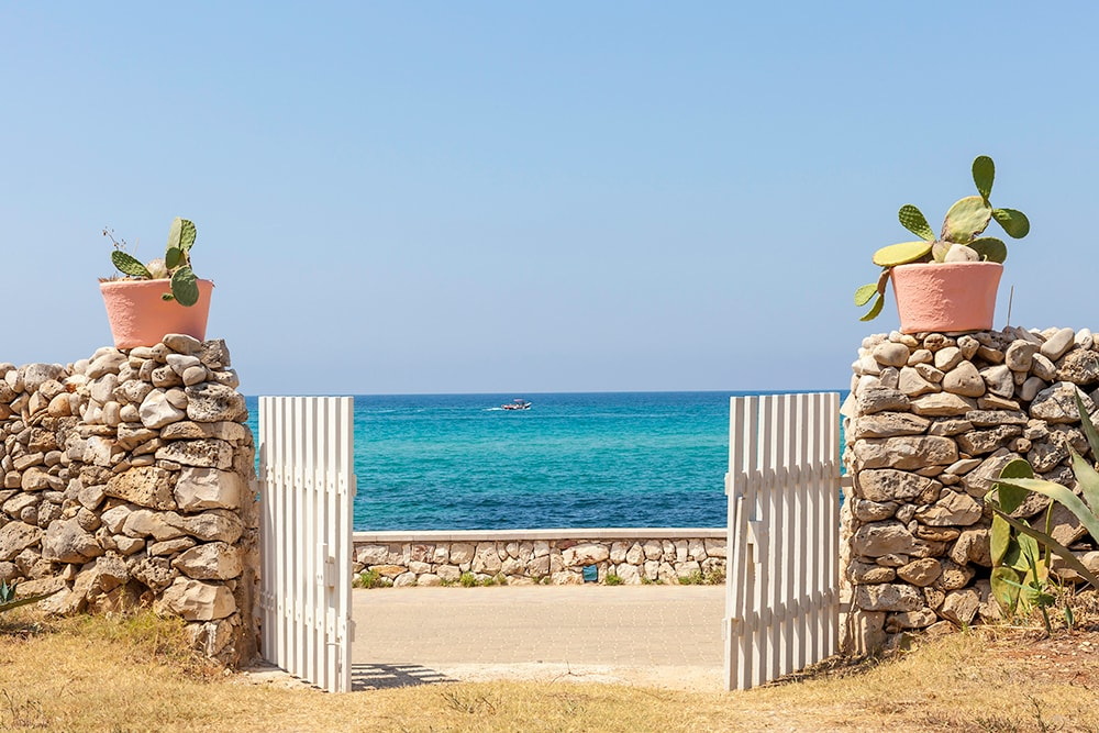 Villas near sandy beaches in Puglia