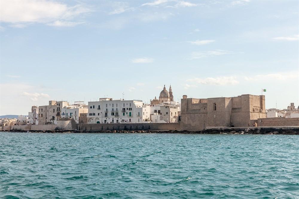 Apulien Karte Strände.Reiseführer Für Apulien Strände Und Badeorte The Thinking Traveller