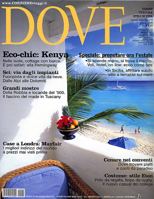 Dove cover March 2009 | Think Sicily