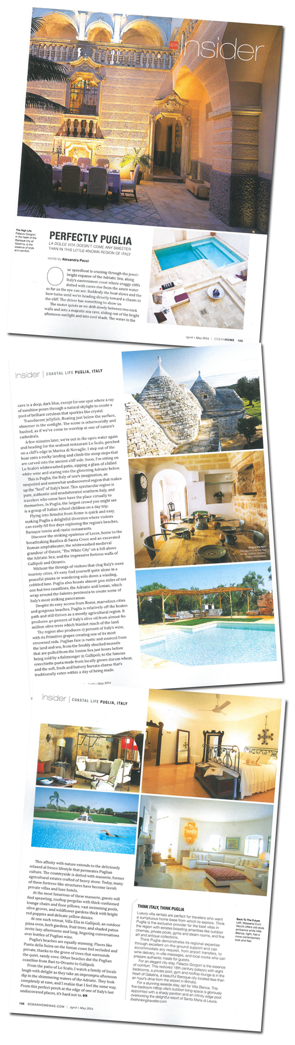 Ocean Home April-May 2014 article